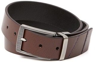 Robert Graham Monaco Leather Dress Belt