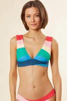 Sincerely Jules Billabong X Billabong x Mas Fiestas Plunge Bikini Top Multi S
