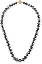 Black Diamond Splendid Company 18k White-Clasp Necklace