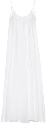 Three Graces London Exclusive to Mytheresa a Mabelle ramie maxi dress