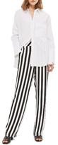 Topshop Women's Humbug Stripe Trousers