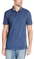 Calvin Klein Jeans Men's Pigment Garment Dye Pique Polo