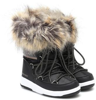MOON BOOT KIDS Girl Monaco Low snow boots
