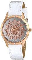 Jacques Lemans Women's 1-1803L Rome Analog Display Quartz White Watch