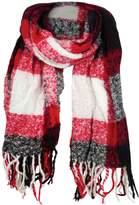 Woolrich Boucle Plaid Wrap Scarf - Women's