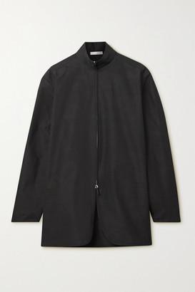 The Row Zana Cotton-poplin Shirt - Black