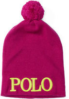 Ralph Lauren Embroidered Knit Hat