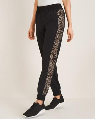 Zenergy Cheetah-Print Jogger Pants