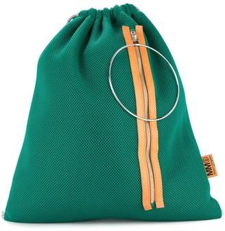 MM6 MAISON MARGIELA Drawstring Colour Block Backpack