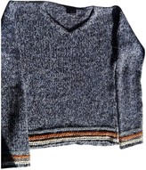 Just Cavalli Blue Wool Knitwear for Women