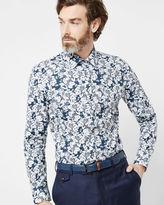 SQUIRRL Floral print cotton shirt