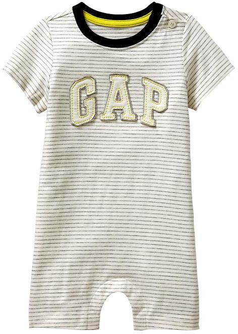 Gap Striped arch logo one-piece