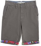 Vans Big Boys' Excerpt Cuff Shorts (Kid) - 24
