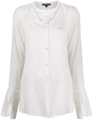 Ann Demeulemeester Lightweight Plain Shirt