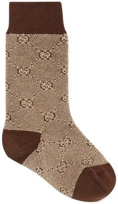 Gucci Children's cotton wool GG socks