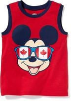 Old Navy Disney© Mickey Mouse Muscle Tank for Toddler Boys