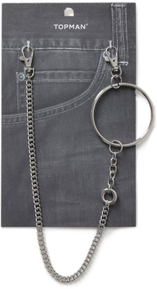Topman Circle Link Wallet Chain*