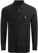 Lyle & Scott Long Sleeve Oxford Shirt Black