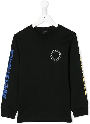 Diesel Graphic Logo-Print Sweatshirt