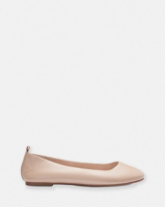 Sandler - Women's Nude Ballet Flats - Gaze - Size One Size, 7.5 at The Iconic