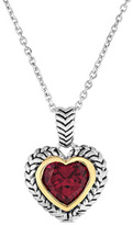 Ruby Heart Pendant Shopstyle