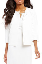 Preston & York Heather Stretch Crepe Suiting Jacket