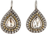 Zoe Women's Mixed-Diamond Teardrop Earrings