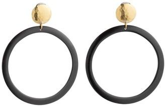 Natori Buffalo Nail Hoop Earrings