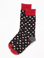Old Navy Printed Statement Socks for Men
