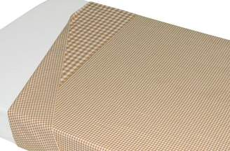 BEIGE Taftan Checks Small/ Big Top Sheet 120 x 150cm