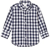 Gap Blue and White Gingham Check Shirt