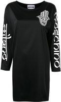 Moschino T-shirt dress - women - Acetate/Rayon/other fibers - 40
