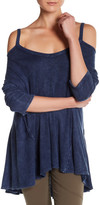 Blu Pepper Colorblock Knit Shirt