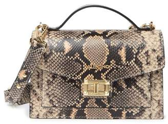 Mario Valentino Valentino By Titti Python Leather Crossbody Bag