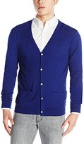 Scotch & Soda Men's Classic Cotton Melange Cardigan
