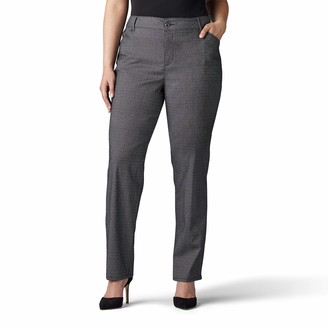 Lee Women's Plus Size Relaxed Fit All Day Straight Leg Pant