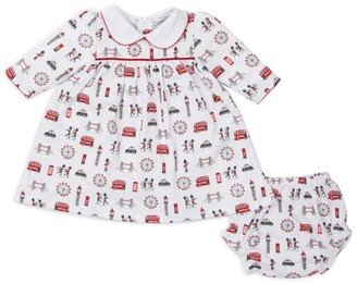 Kissy Kissy London Print Dress And Bloomers Set (3-18 Months)