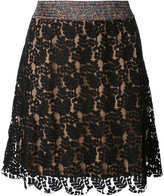 Ash Jim A-line skirt - women - Cotton/Nylon/Rayon/Viscose - S