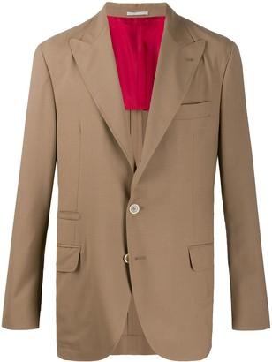 Brunello Cucinelli Boxy Fit Suit Jacket