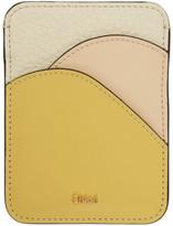 Chloé Yellow Walden Card Holder