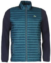 Lacoste Quilted Contrasting Jacket