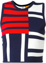 Tommy Hilfiger cropped patchwork tank