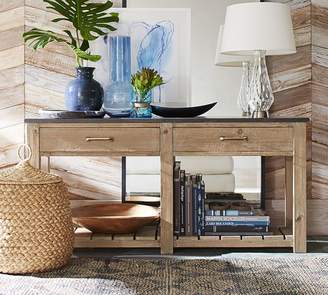 Pottery Barn Parker Reclaimed Wood Console Table