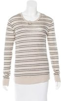 Alexander Wang Striped Henley Top