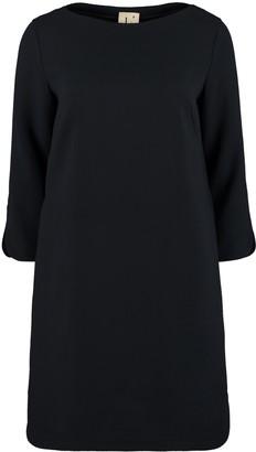 L'Autre Chose Wool Crepe Dress