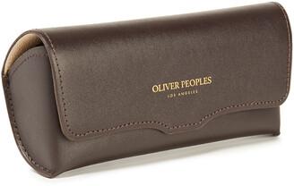 Oliver Peoples Erissa Oval-frame Acetate Sunglasses
