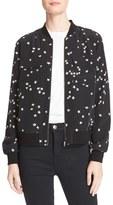 Equipment Women's Abbot Silk Bomber Jacket