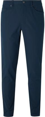 Lululemon ABC Slim-Fit Warpstreme Trousers - Men - Blue