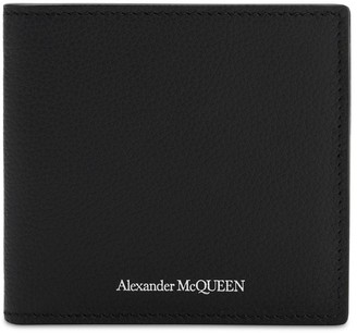 Alexander McQueen Logo Leather Billfold Wallet