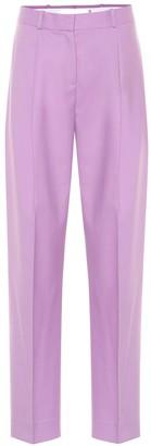 Victoria Victoria Beckham High-rise wool-blend pants